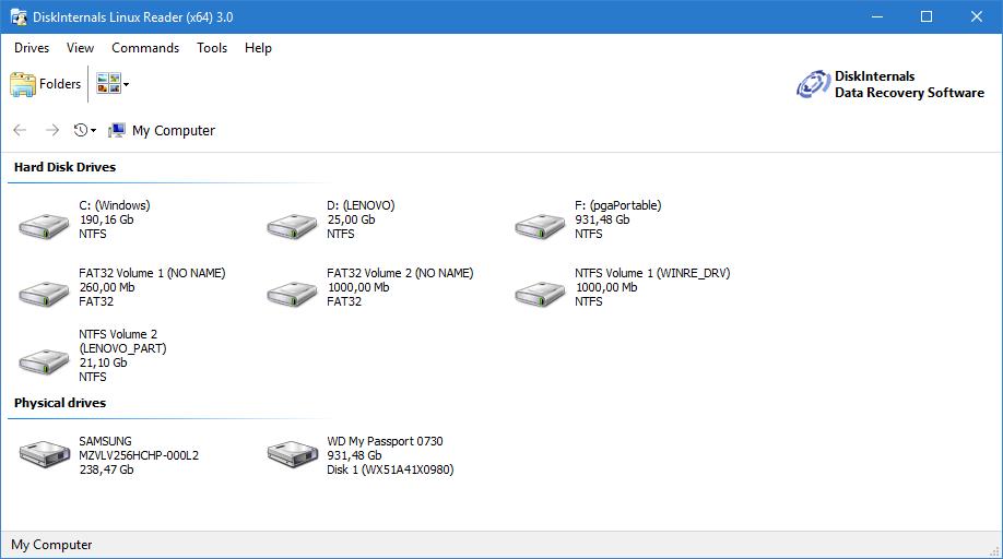 Zugriff auf NAS-Festplatte unter Windows
