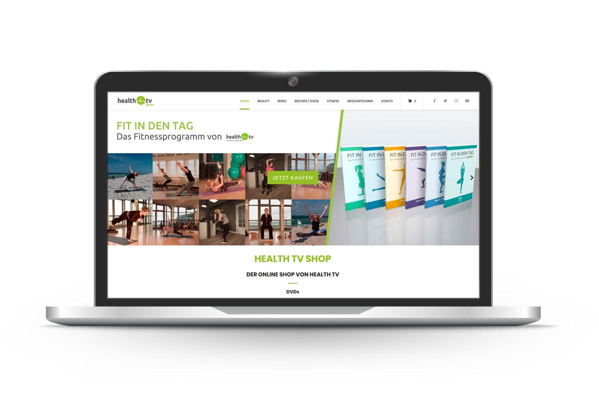 pga IT - Referenz Health TV Shop