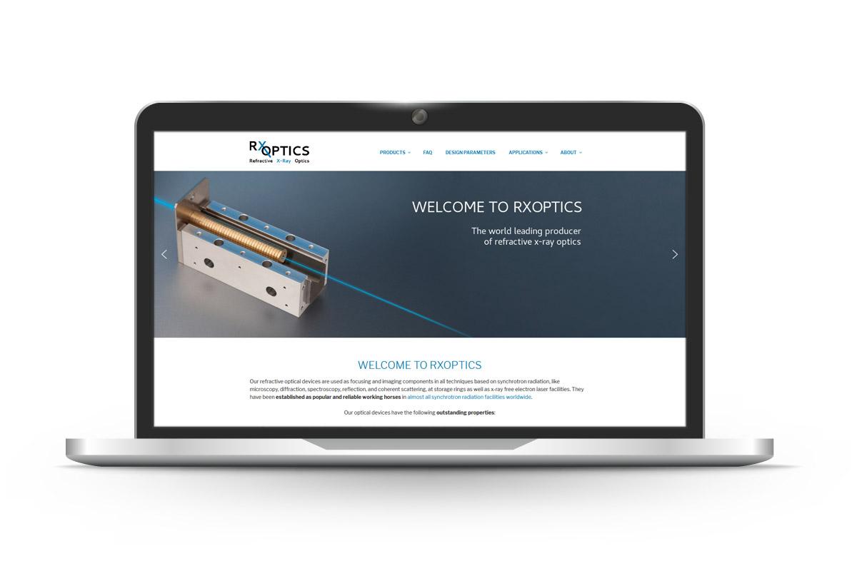 pga IT - Referenz RXOPTICS