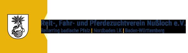 Logo Referenzkunde Reitverein Nußloch